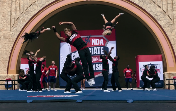 """Director Greg Whitely has said that cheerleaders are """"the toughest athletes I've ever filmed."""""""