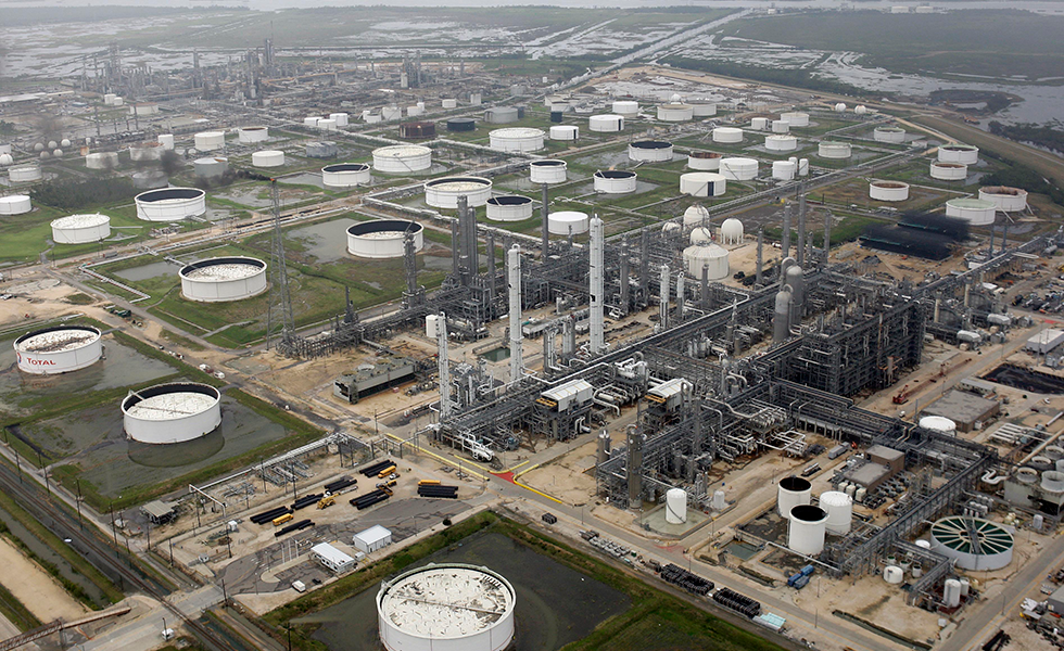 A petrochemical plant in Port Arthur.