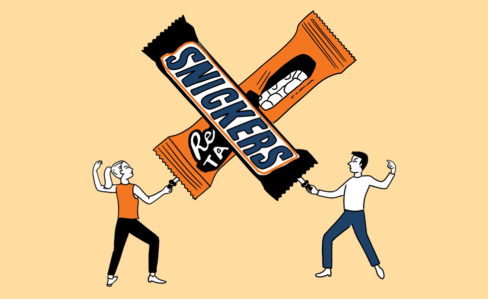 A candy factory created the world's largest chocolate bar, only to have the title stolen by a rival.