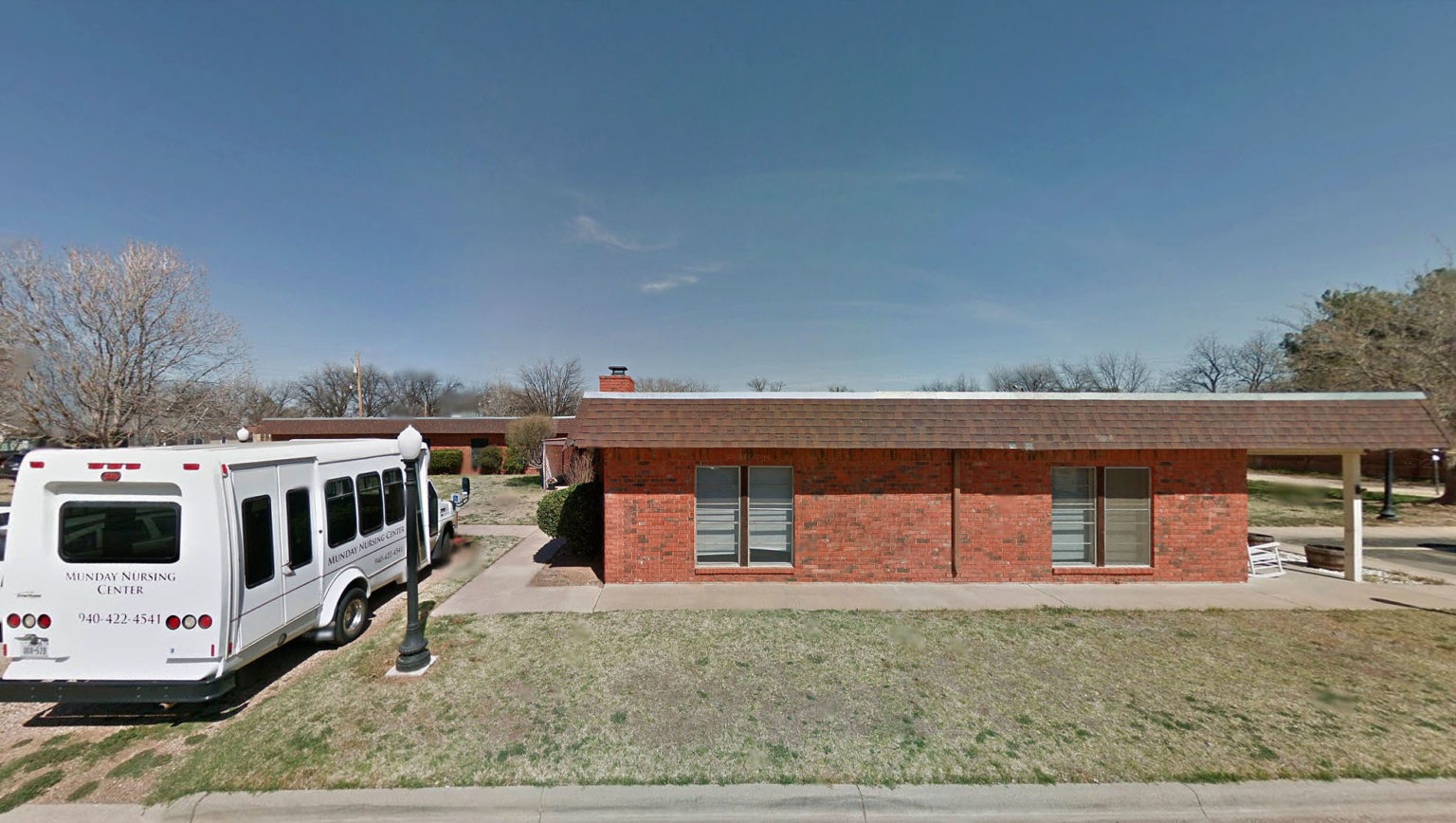 The Munday Nusing Center in Munday, Texas.